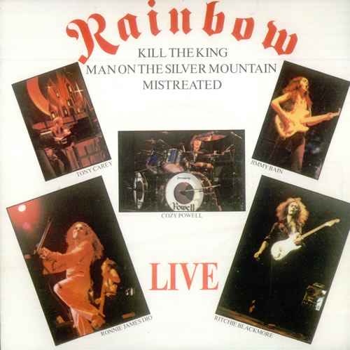 "Rainbow Live EP 7"" vinyl single (7 inch record) UK RBO07LI100037"