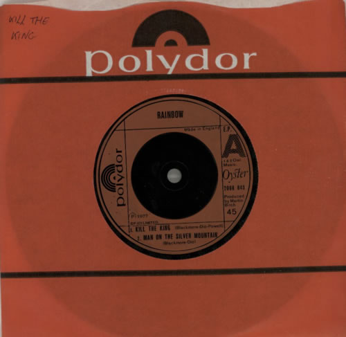 "Rainbow Live EP 7"" vinyl single (7 inch record) UK RBO07LI580751"