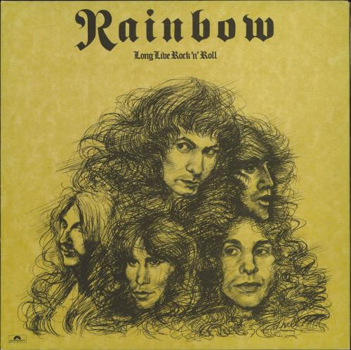 Rainbow Long Live Rock 'N' Roll - 1st - A1/B1 - EX vinyl LP album (LP record) UK RBOLPLO579074