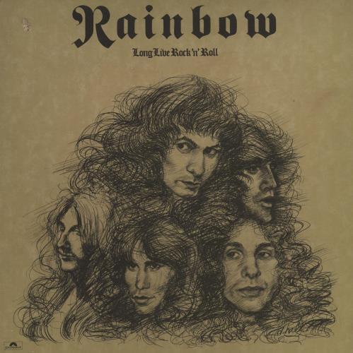 Rainbow Long Live Rock 'N' Roll - 1st - A2/B2 vinyl LP album (LP record) UK RBOLPLO560815