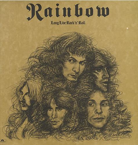 Rainbow Long Live Rock 'N' Roll - 1st - EX vinyl LP album (LP record) UK RBOLPLO171432