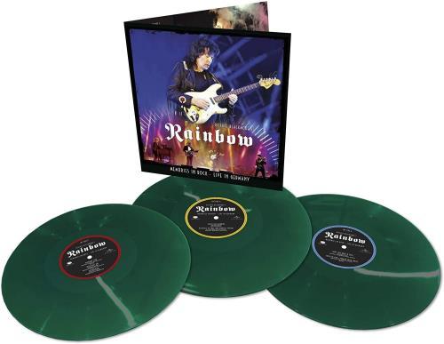 Rainbow Memories In Rock - 180 Gram Green Vinyl - Sealed 3-LP vinyl record set (Triple Album) UK RBO3LME756915