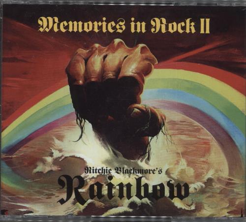 Rainbow Memories In Rock II 3-disc CD/DVD Set UK RBO3DME739853