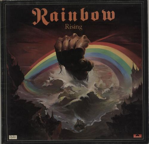 Rainbow Rainbow Rising - 2nd vinyl LP album (LP record) UK RBOLPRA637271