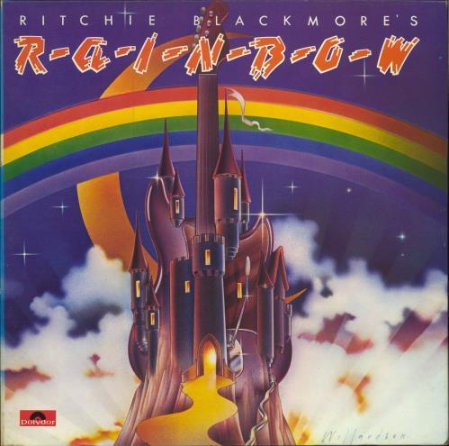 Rainbow Ritchie Blackmore's Rainbow - 2nd vinyl LP album (LP record) UK RBOLPRI64320