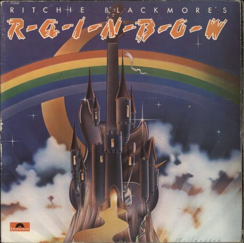 Rainbow Ritchie Blackmore's Rainbow vinyl LP album (LP record) US RBOLPRI768803