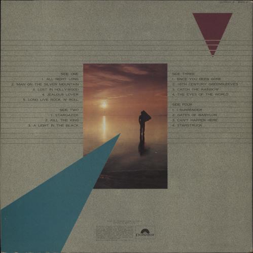 Rainbow The Best Of Rainbow - EX 2-LP vinyl record set (Double Album) UK RBO2LTH757830
