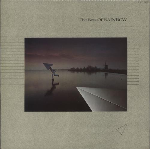 Rainbow The Best Of Rainbow 2-LP vinyl record set (Double Album) UK RBO2LTH316762