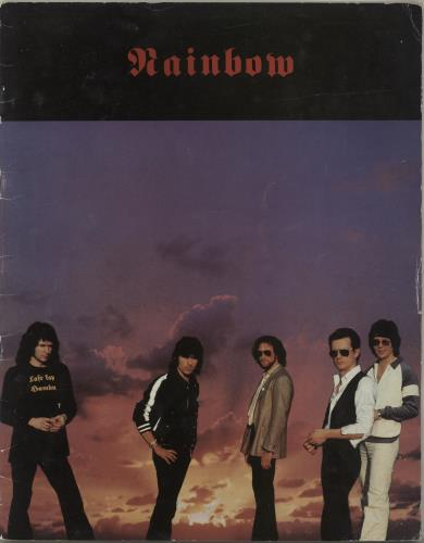 Rainbow Tour Of Europe 1980 - EX tour programme UK RBOTRTO546391
