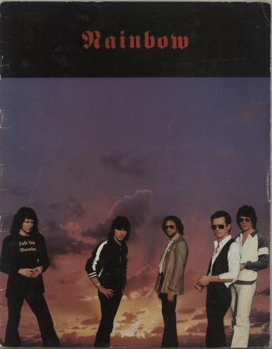 Rainbow Tour Of Europe 1980 - EX tour programme UK RBOTRTO546391