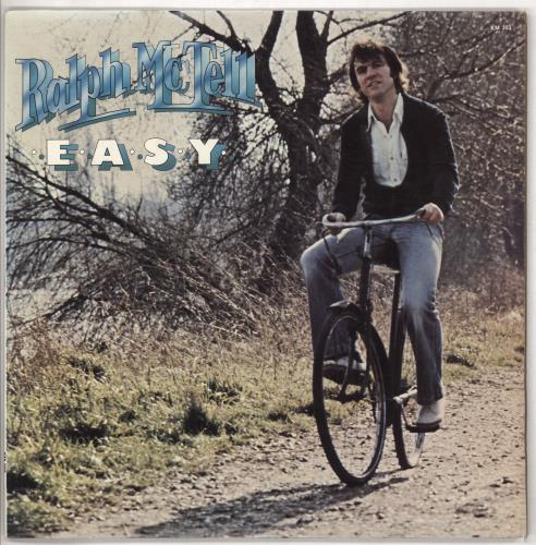 Ralph McTell Easy vinyl LP album (LP record) US 7RMLPEA737711