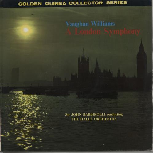 Ralph Vaughan Williams A London Symphony (Revised Version) vinyl LP album (LP record) UK VB7LPAL532223