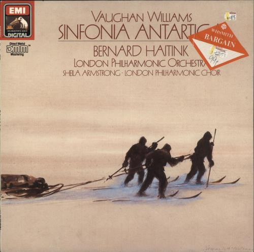 Ralph Vaughan Williams Williams: Sinfonia Antartica vinyl LP album (LP record) UK VB7LPWI748865