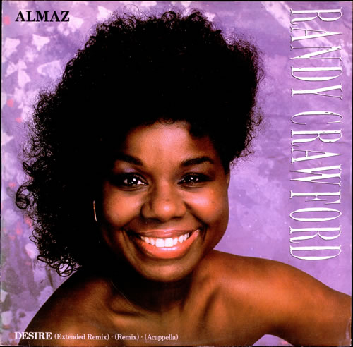 "Randy Crawford Almaz 12"" vinyl single (12 inch record / Maxi-single) UK RCW12AL239509"