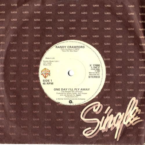 "Randy Crawford One Day I'll Fly Away 7"" vinyl single (7 inch record) UK RCW07ON560336"