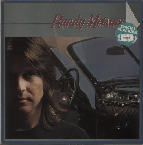 Randy Meisner Randy Meisner vinyl LP album (LP record) UK RMSLPRA603645