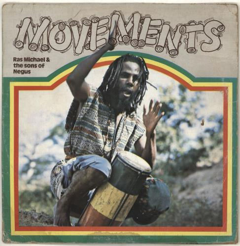 Ras Michael Movements vinyl LP album (LP record) Jamaican RQ1LPMO707977
