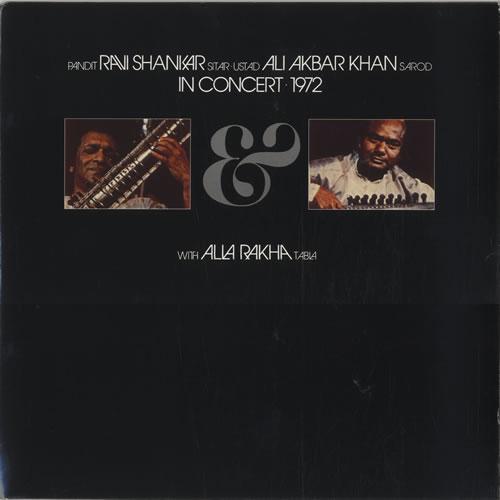 Ravi Shankar In Concert 1972 - reissue 2-LP vinyl record set (Double Album) UK RVK2LIN139925