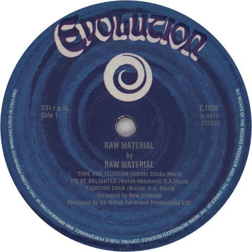 Raw Material Raw Material - 1st [G] vinyl LP album (LP record) UK R12LPRA756988