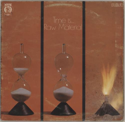 Raw Material Time Is... - VG vinyl LP album (LP record) UK R12LPTI754347