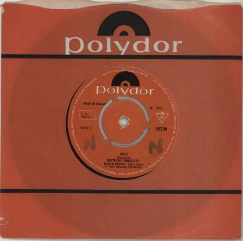 "Raymond Froggatt Roly 7"" vinyl single (7 inch record) UK 1RF07RO688100"