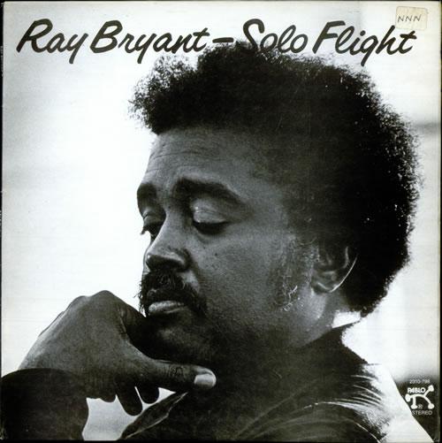 Ray Bryant Solo Flight vinyl LP album (LP record) UK 1RBLPSO511041