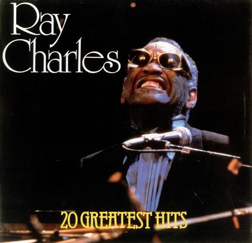 Ray Charles 20 Greatest Hits German vinyl LP album (LP record) (440350)