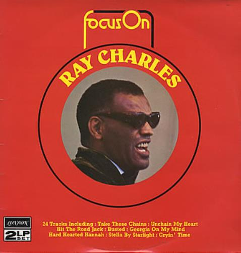 Ray Charles Focus On Ray Charles UK 2-LP vinyl record set (Double Album)