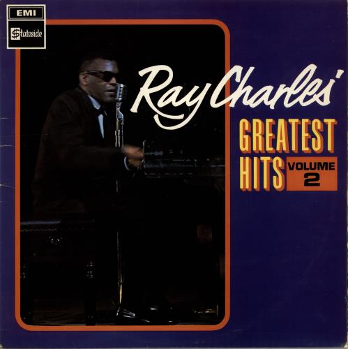 Ray Charles Greatest Hits Volume 2 - First Issue - Mono vinyl LP album (LP record) UK RYHLPGR705257