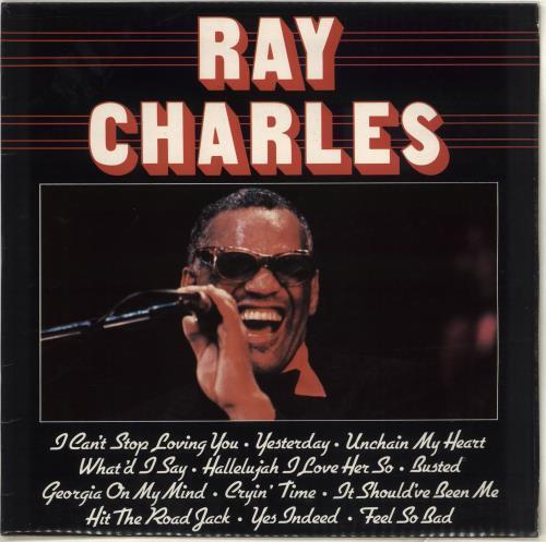 Ray Charles Ray Charles UK vinyl LP album (LP record) (707724)