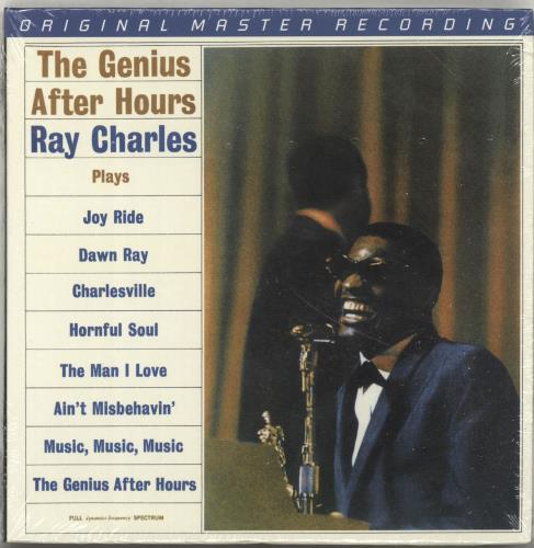 Ray Charles The Genius After Hours - Sealed super audio CD SACD US RYHSATH693073