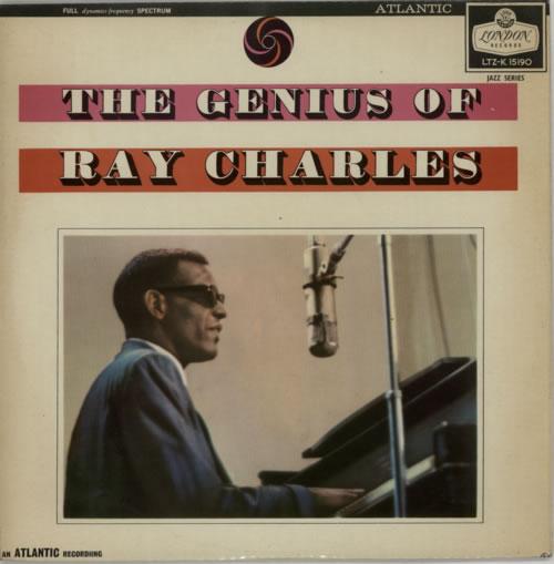 Ray Charles The Genius Of Ray Charles - front lam vinyl LP album (LP record) UK RYHLPTH614700