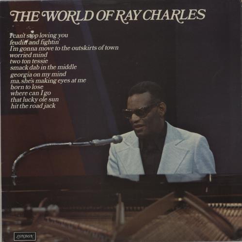 Ray Charles The World Of Ray Charles UK vinyl LP album (LP record)