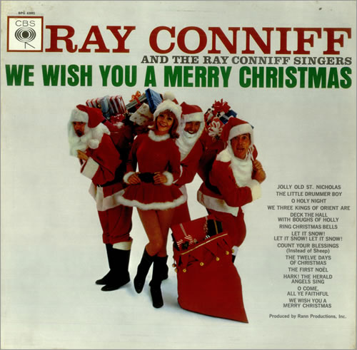 Ray Conniff We Wish You A Merry Christmas vinyl LP album (LP record) UK RD7LPWE455521