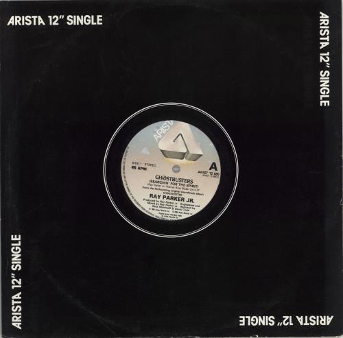 """Ray Parker Jr Ghostbusters (Searchin' For The Spirit) 12"""" vinyl single (12 inch record / Maxi-single) UK RPJ12GH766557"""