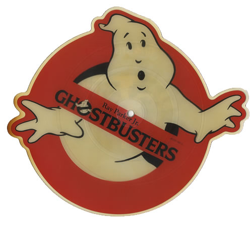 Ray Parker Jr Ghostbusters Uk Shaped Picture Disc Picture