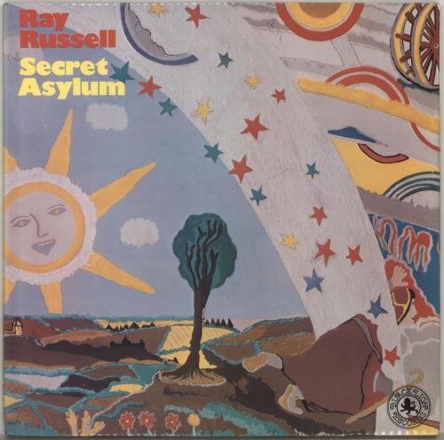 Ray Russell Secret Asylum vinyl LP album (LP record) UK RJYLPSE703239