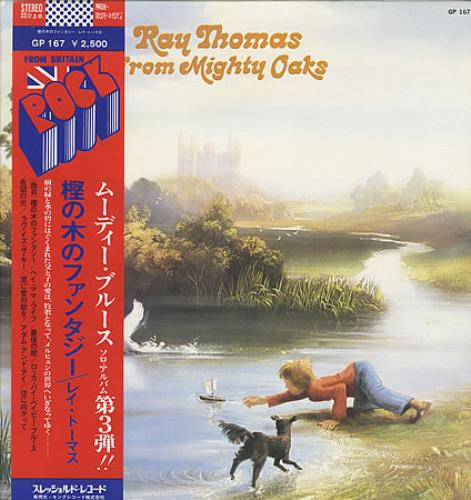 Ray Thomas From Mighty Oaks vinyl LP album (LP record) Japanese RYTLPFR403508