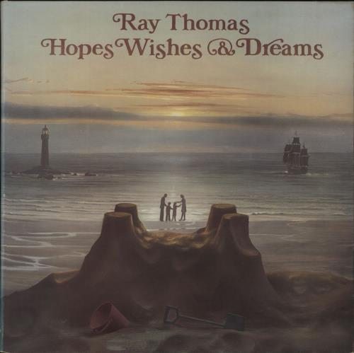 Ray Thomas Hopes Wishes & Dreams vinyl LP album (LP record) UK RYTLPHO672536
