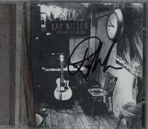 Ray Wilson Chasing Rainbows - Autographed CD album (CDLP) Polish R91CDCH675958