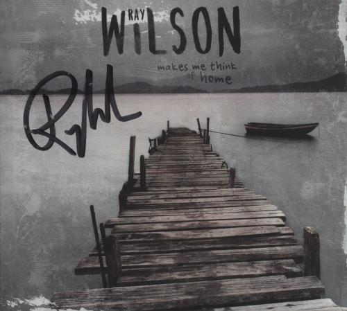 Ray Wilson Makes Me Think Of Home - Autographed CD album (CDLP) Polish R91CDMA675960