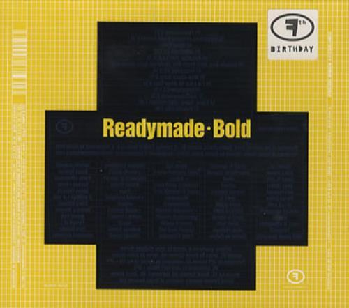 Readymade Bold CD album (CDLP) German RBQCDBO353992