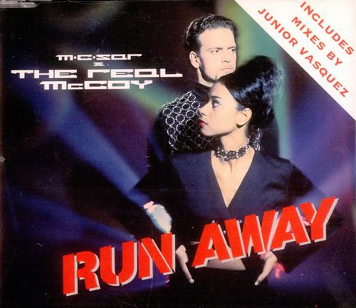 "Real McCoy (90s) Run Away CD single (CD5 / 5"") UK RLMC5RU295756"