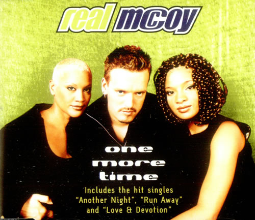 Real Mccoy One More Time European 2 Cd Single Set Double