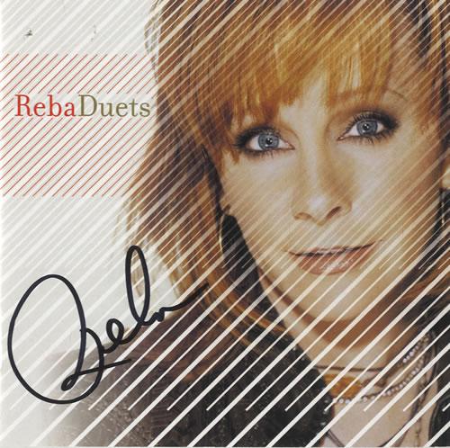 Reba McEntire Duets - Autographed memorabilia US RMEMMDU487012