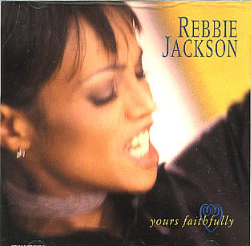 "Rebbie Jackson Yours Faithfully CD single (CD5 / 5"") US REBC5YO297369"