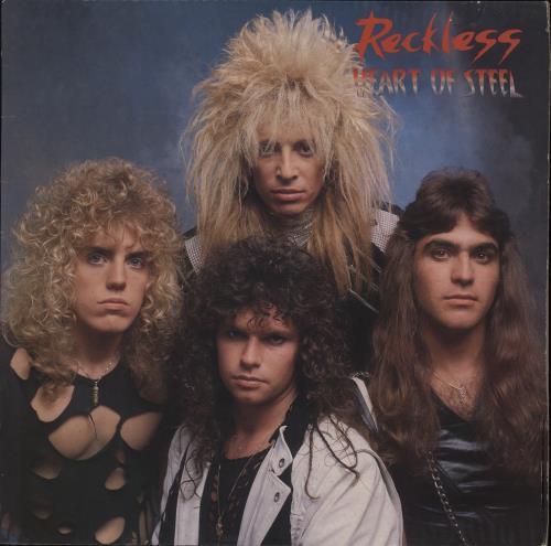 Reckless (Canadian) Heart Of Steel vinyl LP album (LP record) UK R7CLPHE654039