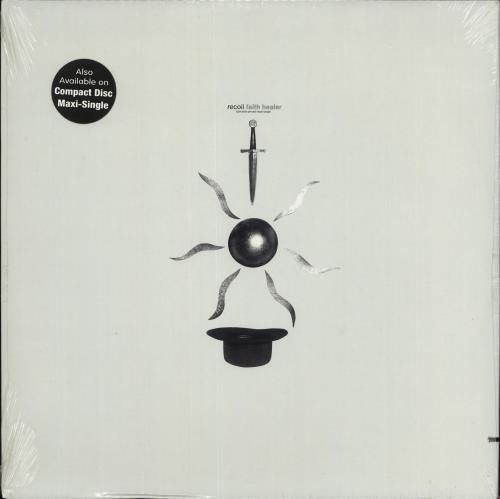 "Recoil Faith Healer - Sealed 12"" vinyl single (12 inch record / Maxi-single) US RCL12FA715709"