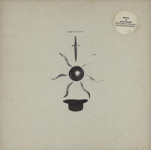 "Recoil Faith Healer 12"" vinyl single (12 inch record / Maxi-single) UK RCL12FA76472"