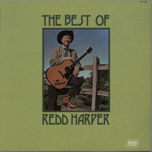 Redd Harper The Best Of Redd Harper vinyl LP album (LP record) UK XEJLPTH638915